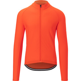 Giro Chrono LS Thermal Jersey Men vermillion